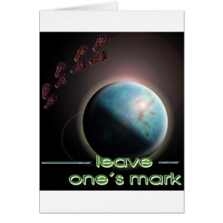 leave one's mark 1 card