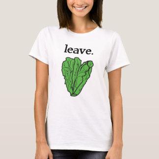 leave. (romaine lettuce) T-Shirt