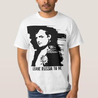 Leave Russia to Me Tee Shirt
