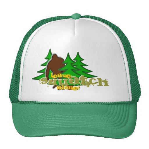 Leave Squatch Alone! Trucker Hat