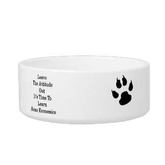 Leave The Attitude Out It's Time To Learn Some Eco Pet Food Bowls