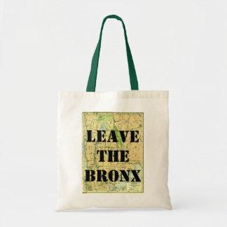 LEAVE THE BRONX! TOTE BAG