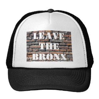 LEAVE THE BRONX! TRUCKER HAT