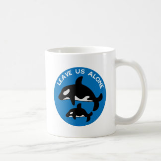 Leave the Orca Blue Coffee Mug