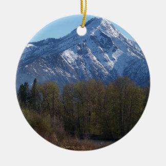 Leavenworth Ceramic Ornament