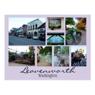 Leavenworth Collage 2 Postcard