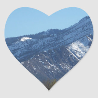 Leavenworth Heart Sticker