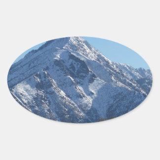 Leavenworth Oval Sticker