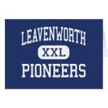 Leavenworth - Pioneers - High - Leavenworth Kansas Cards
