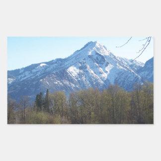 Leavenworth Rectangular Sticker
