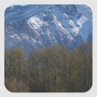 Leavenworth Square Sticker