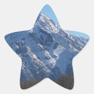 Leavenworth Star Sticker