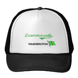 Leavenworth Washington City Classic Trucker Hats