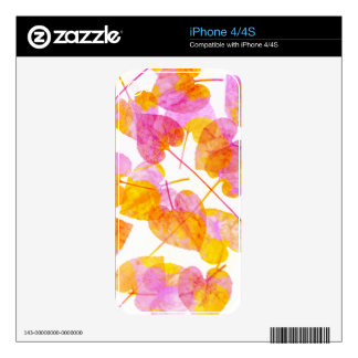Leaves #2 - iPhone 4/4S Skin iPhone 4S Skins