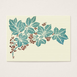 Leaves and Berries Business Card