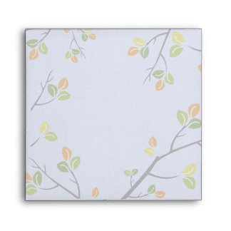 Leaves and Branches Custom Envelope