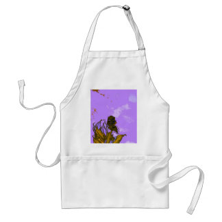 """Leaves and Butterfly""  CricketDiane Designer Stuf Adult Apron"