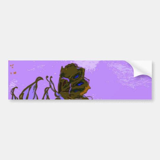 """Leaves and Butterfly""  CricketDiane Designer Stuf Bumper Sticker"