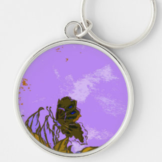 """""""Leaves and Butterfly""""  CricketDiane Designer Stuf Keychain"""