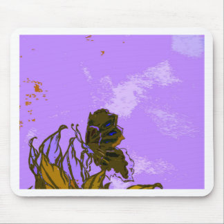 """""""Leaves and Butterfly""""  CricketDiane Designer Stuf Mouse Pad"""