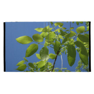 Leaves and the Blue Sky iPad case