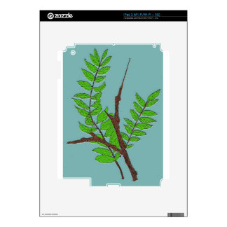Leaves and Twigs Decal For iPad 2