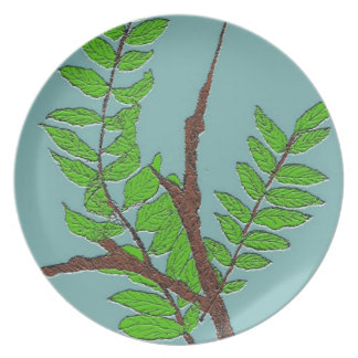 Leaves and Twigs Dinner Plate