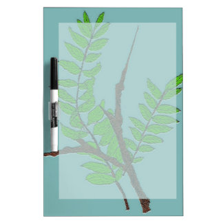 Leaves and Twigs Dry-Erase Board