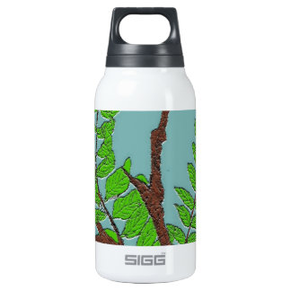 Leaves and Twigs Insulated Water Bottle