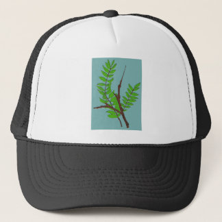 Leaves and Twigs Trucker Hat