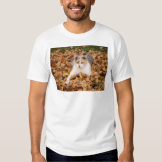 leaves are fun! t shirt