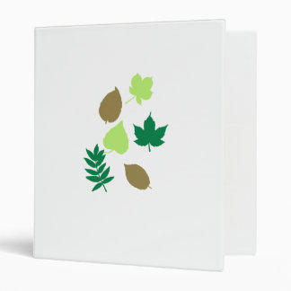 Leaves autumn 3 ring binders