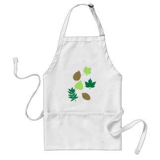 Leaves autumn apron