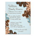 Leaves Be-Scattered! 4.25x5.5 Paper Invitation Card