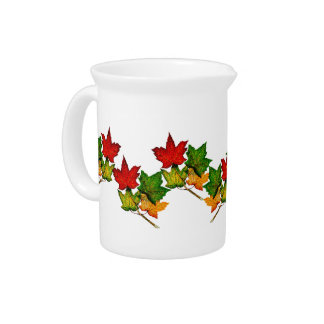 LEAVES BEVERAGE PITCHER