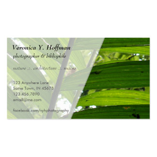 Leaves Business Card