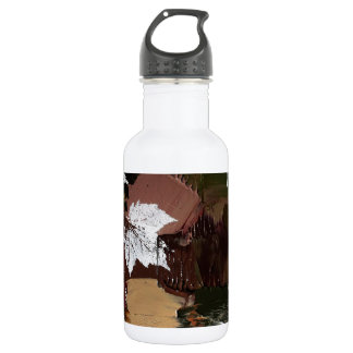Leaves Camo Print 18oz Water Bottle