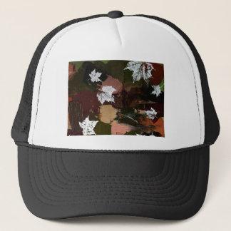 Leaves Camo Print Trucker Hat