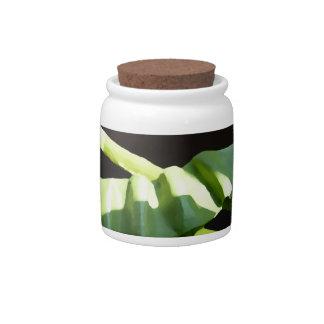 Leaves Candy Jar