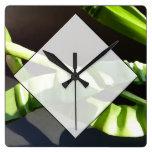 Leaves. Clocks
