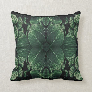 Leaves Composition Throw Pillow