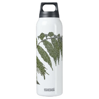 leaves (digital image) 16 oz insulated SIGG thermos water bottle