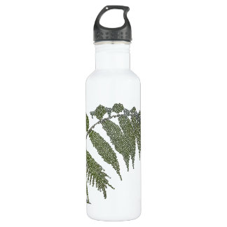leaves (digital image) 24oz water bottle