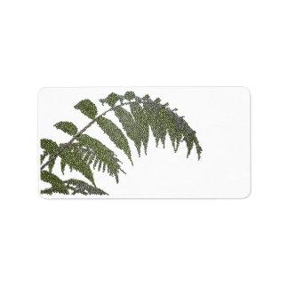 leaves (digital image) label