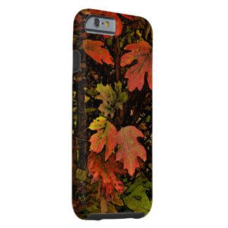 """LEAVES"" /EARTHTONE COLORS/digital manip. Tough iPhone 6 Case"