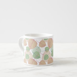 leaves espresso cups