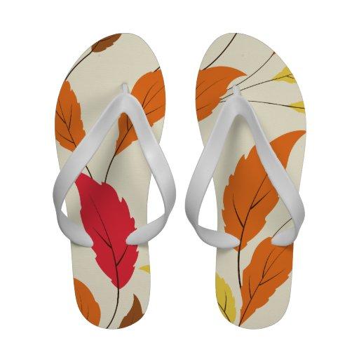 Leaves Flip Flops
