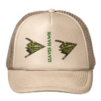 Leaves Hawk Gorra