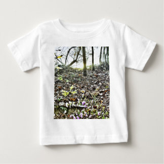 Leaves-HDR Baby T-Shirt