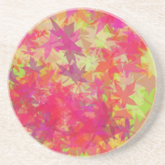 Leaves in Autumn Drink Coasters